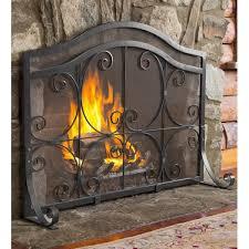 plow hearth single panel fireplace screen reviews wayfair