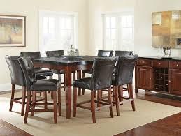 granite top round pub table dallas designer furniture bello pub table set with granite top