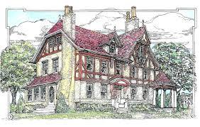 tudor style house plan 4 beds 2 50 baths 2732 sq ft 413 137 fancy