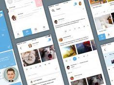 mobile ux template free sketch app resources pinterest