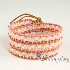 bracelet leather wrap images Wrap around leather for women personalized leather wrap bracelets jpg