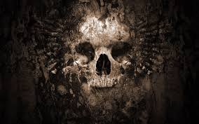 free 3d halloween wallpaper skull wallpaper hd