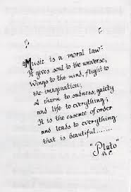 Plato Quotes About Love by Music Leads To Everything That Is Beautiful Plato