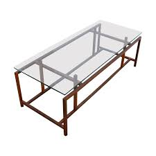 komfort danish rosewood u0026 glass coffee table chairish