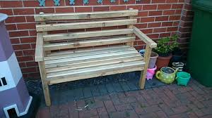 Outdoor Wooden Bench Diy by Diy Wooden Bench On A Budget Garden Project For Smart Gardeners