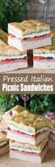 pressed italian picnic sandwiches thestayathomechef com