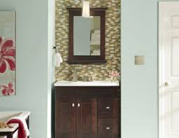 Bathroom Cabinet Color Ideas - interior paint ideas and schemes from the color wheel