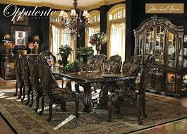 oak dining room sets with china cabinet corner cabinets furniture