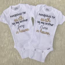 monogram baby items handpicked for earth by my rainbow baby bodysuit