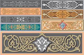 nouveau ornaments free vector in encapsulated postscript eps