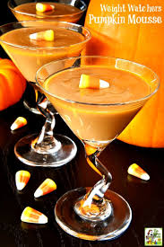 pumpkin martini recipe weight watchers pumpkin mousse this mama cooks on a diet