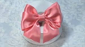 satin ribbon bows diy ribbon bow diy make hair bow tutorial bow tie variant 2