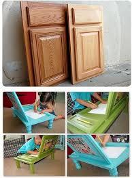 Diy Kid Desk Diy Desk For Made From Cupboard Doors Diy Cozy Home