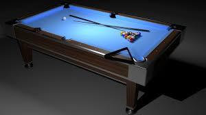 Sport 3d Model Pool Table Cgtrader