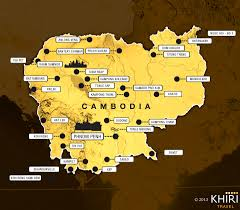 Map Of Cambodia Cambodia Dmc Sustainable Travel In The Kingdom Of Wonder