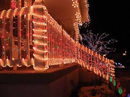 Outdoor Fence Lighting Ideas by Christmas Christmas House Outside Fantastic Light Ideas Simple