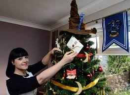 we can u0027t believe how great this harry potter christmas tree is