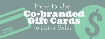 branded gift cards co branded gift cards to drive sales cps cards