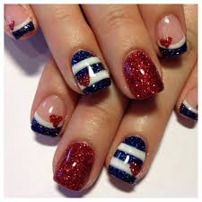112 best patriotic nails images on pinterest gel nail designs