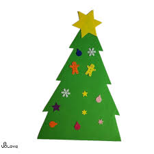 felt christmas tree door wall hanging toddler kid u0026 children fun