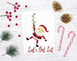 digital christmas cards santa christmas card christmas cards pun christmas