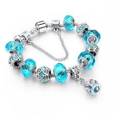bracelet charm beads silver images Crystal beads silver charm bracelet atperrys jpg