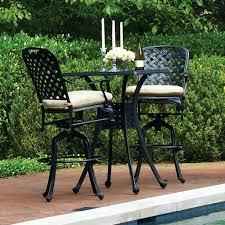 Swivel Patio Dining Chairs Patio Ideas Camden 3 Piece Sling Balcony Height Patio Dining Set