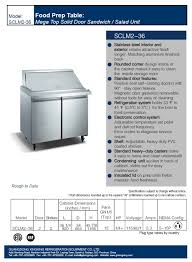 36 inch sandwich prep table hotel supply commercial refrigerated mega top salad sandwich prep