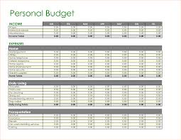 Free Household Budget Spreadsheet 6 Home Budget Templates Outline Templates