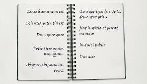 lateinische sprüche erklärung der lateinische zitate aus das geheimnis des komponisten