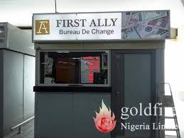 bureau de change nigeria signage ally bureau de change goldfire nigeria limited