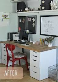 Ikea Office Desks Best 25 Butcher Block Desk Ideas On Pinterest Desk Ideas