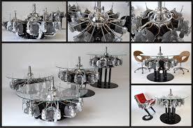 coffee tables mesmerizing fresh radial engine coffee table