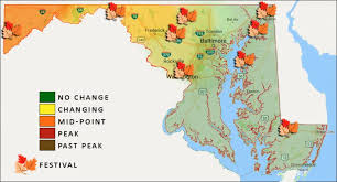maryland foliage map 2015 fall foliage and festival report october 14 15 southern