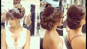 bridal hairstyle latest latest bridal hairstyle 2017 best hairstyles for bridals