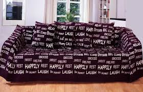 Washing Chenille Sofa Covers Text Embroidered Words Chenille Warm Throw Blanket Bedspread Sofa