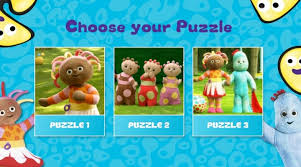 night garden jigsaws cbeebies games kids