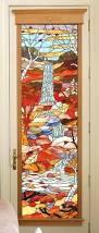 stained glass internal doors custom made stained glass door birds most expensive door i