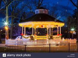 Outdoor Christmas Decorations In Canada by Gazebo Christmas Decorations Stock Photos U0026 Gazebo Christmas
