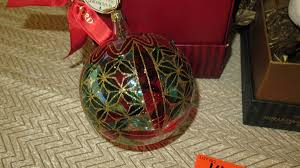 qty 2 new waterford christmas ornaments