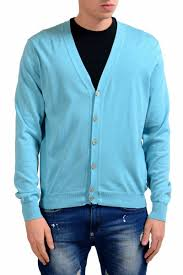 light blue cardigan sweater malo men s light blue cardigan sweater us m it 50 ebay