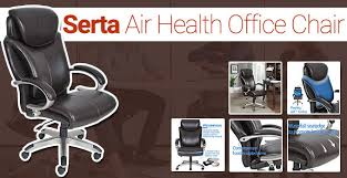 serta office chair review gaming seat w air lumbar technology