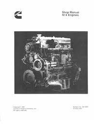 cummins n14 engine warning light motor cummins n14 kenwoth t 800 turbocharger fuel injection