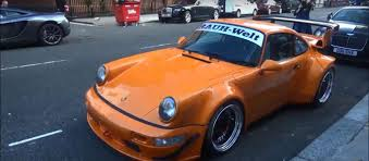 rauh welt porsche 911 first rauh welt begriff porsche 911 in london is a sore thumb with