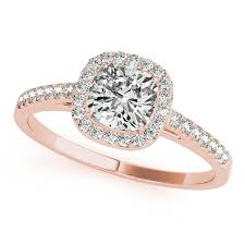 cheap wedding rings gold engagement ring affordable cushion cut side