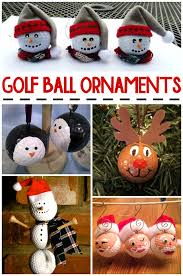 golf ornament ideas crafty morning