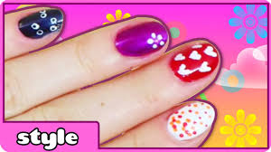 diy easy nail art toothpick nail art designs easy nail art