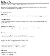 Functional Resume Sample Customer Service by Examples Of A Functional Resume