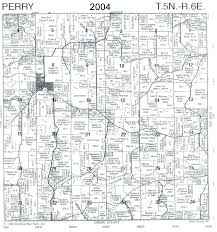 maps town of perry