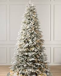 balsam hill color clear lights frosted fraser fir narrow artificial christmas tree balsam hill